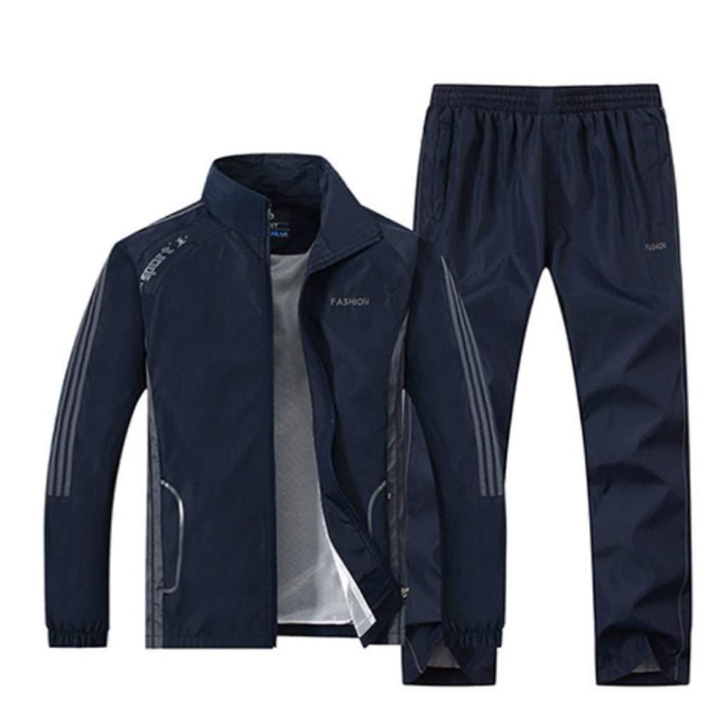 Lilongjiao Herren Sportswear Suit Jogging Gym Voller Reißverschluss Sportswear Atmungsaktive Sportswear