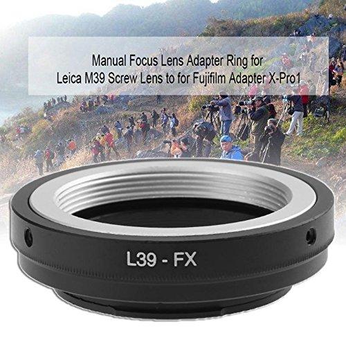 DP-iot High Precision Camera Lens Adapter Accessories L39-FX for Leica M39 Screw Lens for Fujifilm X-Pro1 Camera Lens Adapter