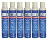 Automotive : Ozium Air Sanitizer Reduces Airborne Bacteria Eliminates Smoke & Malodors 8oz Spray Air Freshener, Original (6-Pack)