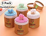600 Piece Multicolor Double Headed Cotton Swabs, Carnatory Double Tipped Cotton Sticks, Cosmetic Swabs for Make-up & Cleaning Ear/Jewelry, Multipurpose, Safe, Highly Absorbent & Hygienic
