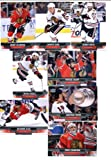 2013-14 Upper Deck NHL Hockey Chicago Blackhawks Series 1 & 2 Veterans Team Set -15 Cards Including: Corey Crawford Andrew Shaw Johnny Oduya Brandon Saad Jonathan Toews Brent Seabrook Patrick Sharp Bryan Bickell