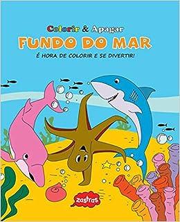 Fundo Do Mar Colorir Apagar Em Portuguese Do Brasil Varios