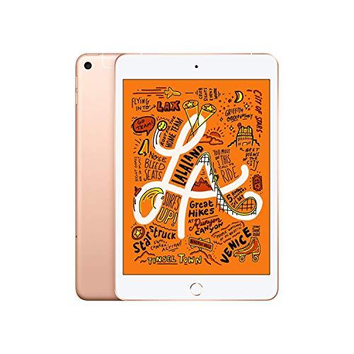 Apple iPad mini (Latest Model) with Wi-Fi + Cellular 256GB Gold MUXP2LL/A