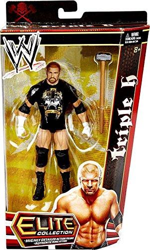 Wwe Mattel Elite Toys R Us Exclusive Triple H Wrestling Action