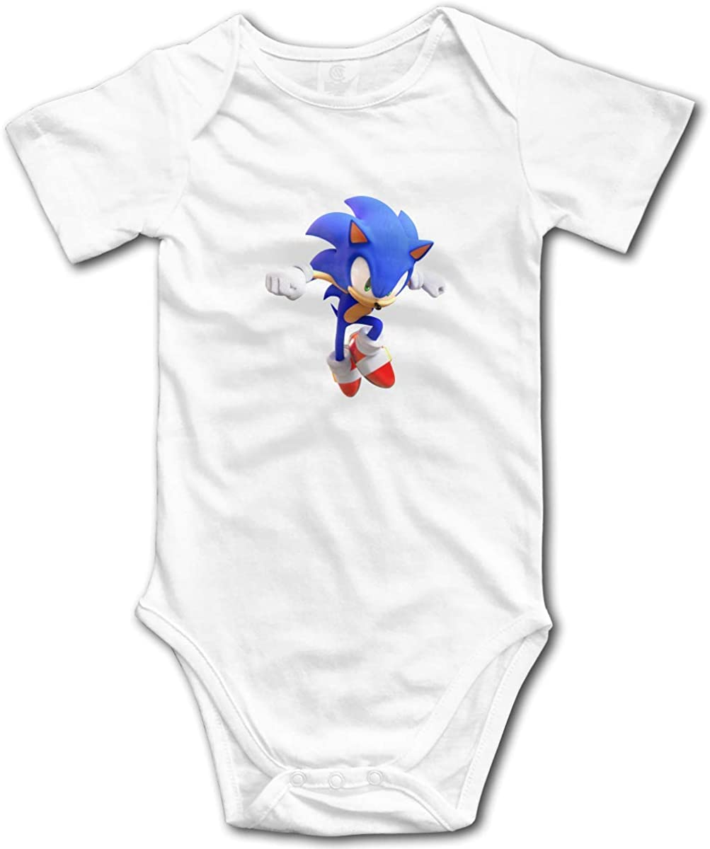 Sonic Lovely Toddler Tees Soft and Cozy Cotton T-Shirts