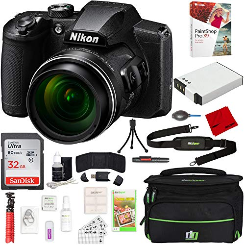Nikon COOLPIX B600 16MP 60x Optical Zoom Digital Camera w/Accessories Bundle