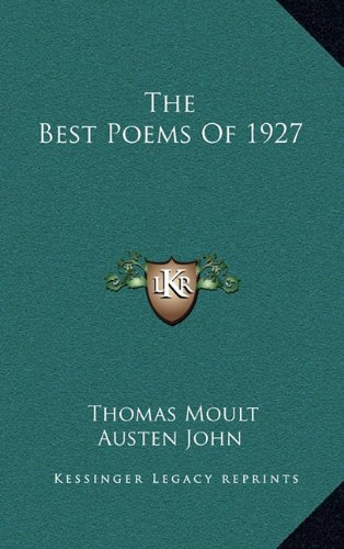 Download The Best Poems Of 1927 ebook