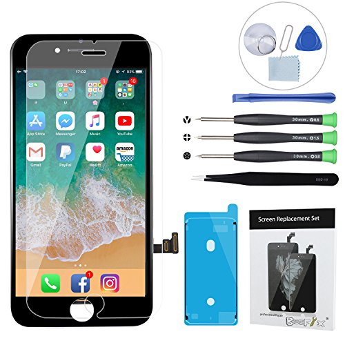 b4a9beb3348898 iPhone 7 Screen Replacement - BeeFix Replacement LCD Display Digitizer  Assembly with 3D Touch and Repair