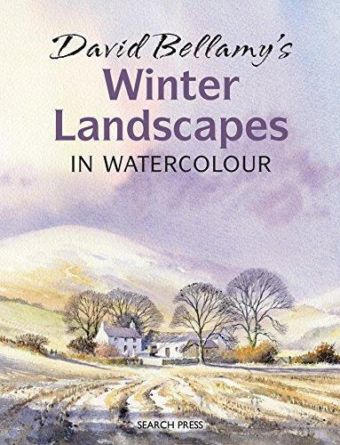 David Bellamy's Winter Landscapes in - Winter Paintings Watercolor