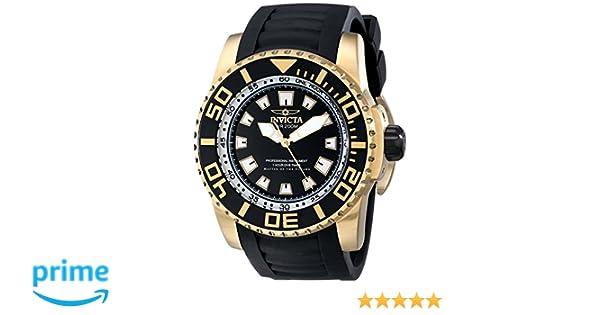 Amazon.com: Invicta Mens 14663 Pro Diver Analog Display Swiss Quartz Black Watch: Invicta: Watches