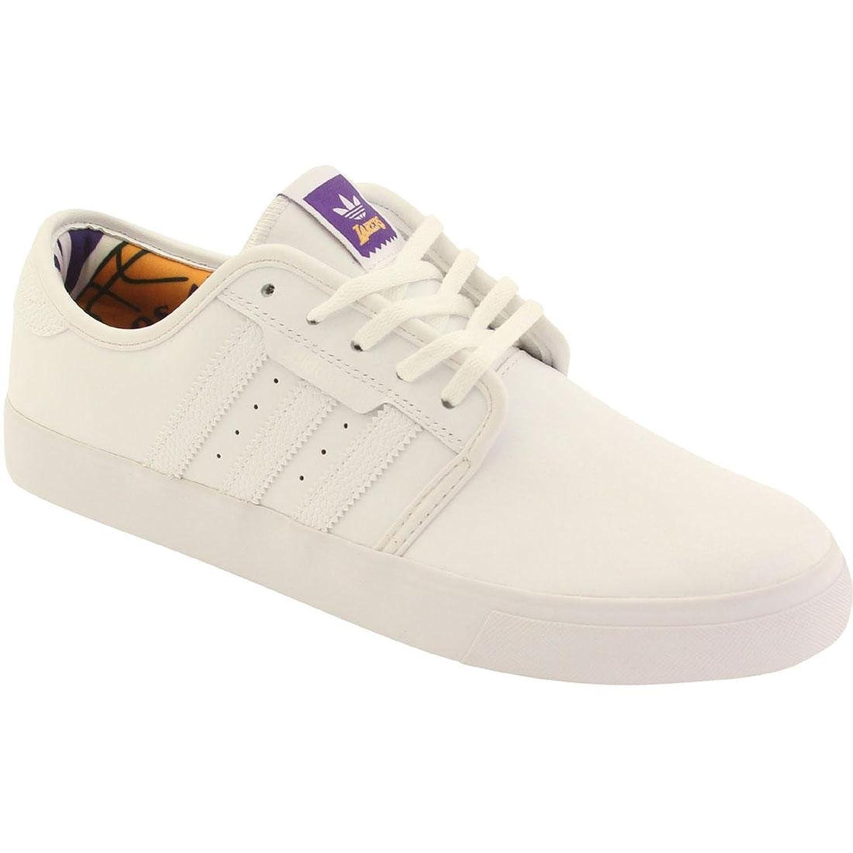 Amazon.com | Adidas Men's Skateboarding Seeley NBA Lakers White/gold/regal  Purple Sneaker 11 D(M) US | Fashion Sneakers