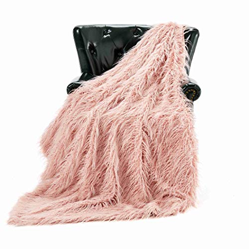 - Homey Forte Breathable Lightweight Blanket for Summer Thin Comforter Quilt Cooling Blanket Faux Fur Chair Throw for Living Room Mongolian Fur Style [50