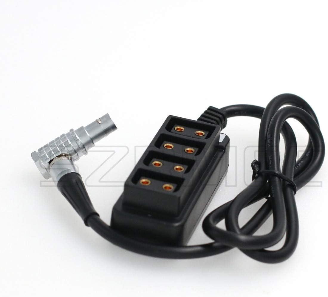 SZRMCC Arri Amira//XT Camera RED DSMC2 AUX 0B 2 Pin Power Out 12V to 4 D tap Splitter Cable