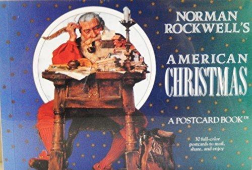 Norman Rockwell's American Christmas: A Postcard Book (Postcard Books)