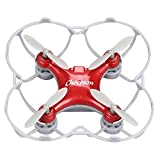 RC Mini Drone Cheerson Quadcopter Toy CS-10SE Remote Control Airplane Four Axis Aircraft Children's Toy Airplane Model Smart Q Headless Aircraft with Built-in Battery (Red)