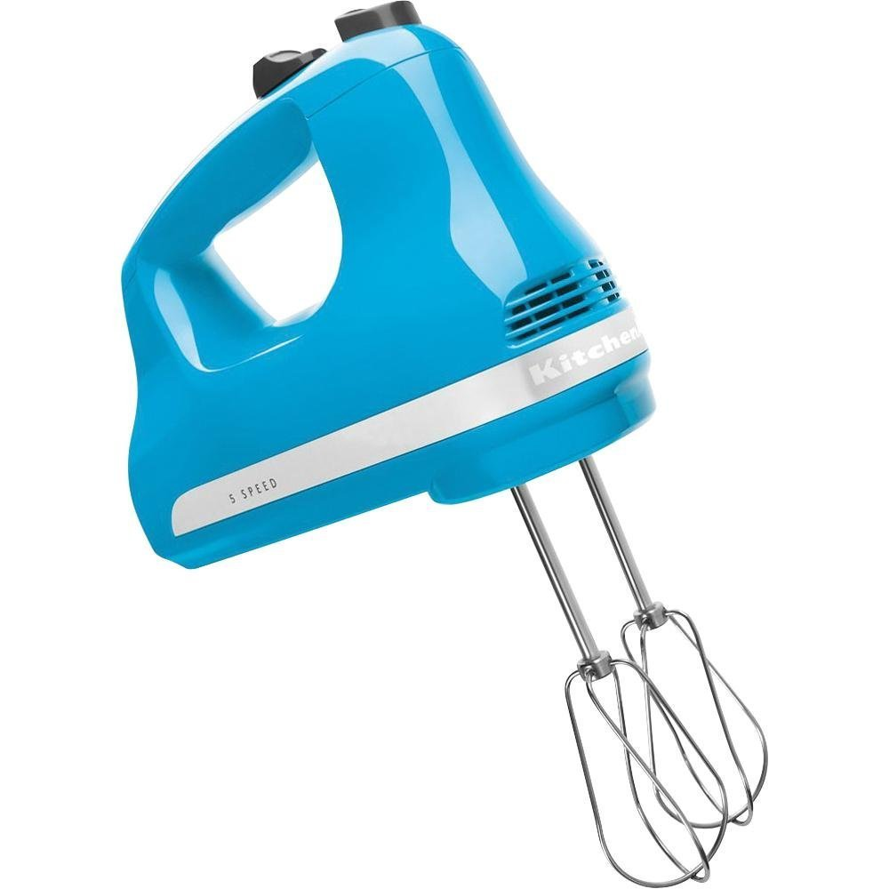 KitchenAid Ultra Power 5-Speed Hand Mixer (Crystal Blue (blue))