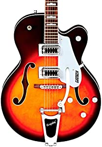 gretsch g5420t electromatic single cutaway hollow body guitar sunburst musical. Black Bedroom Furniture Sets. Home Design Ideas