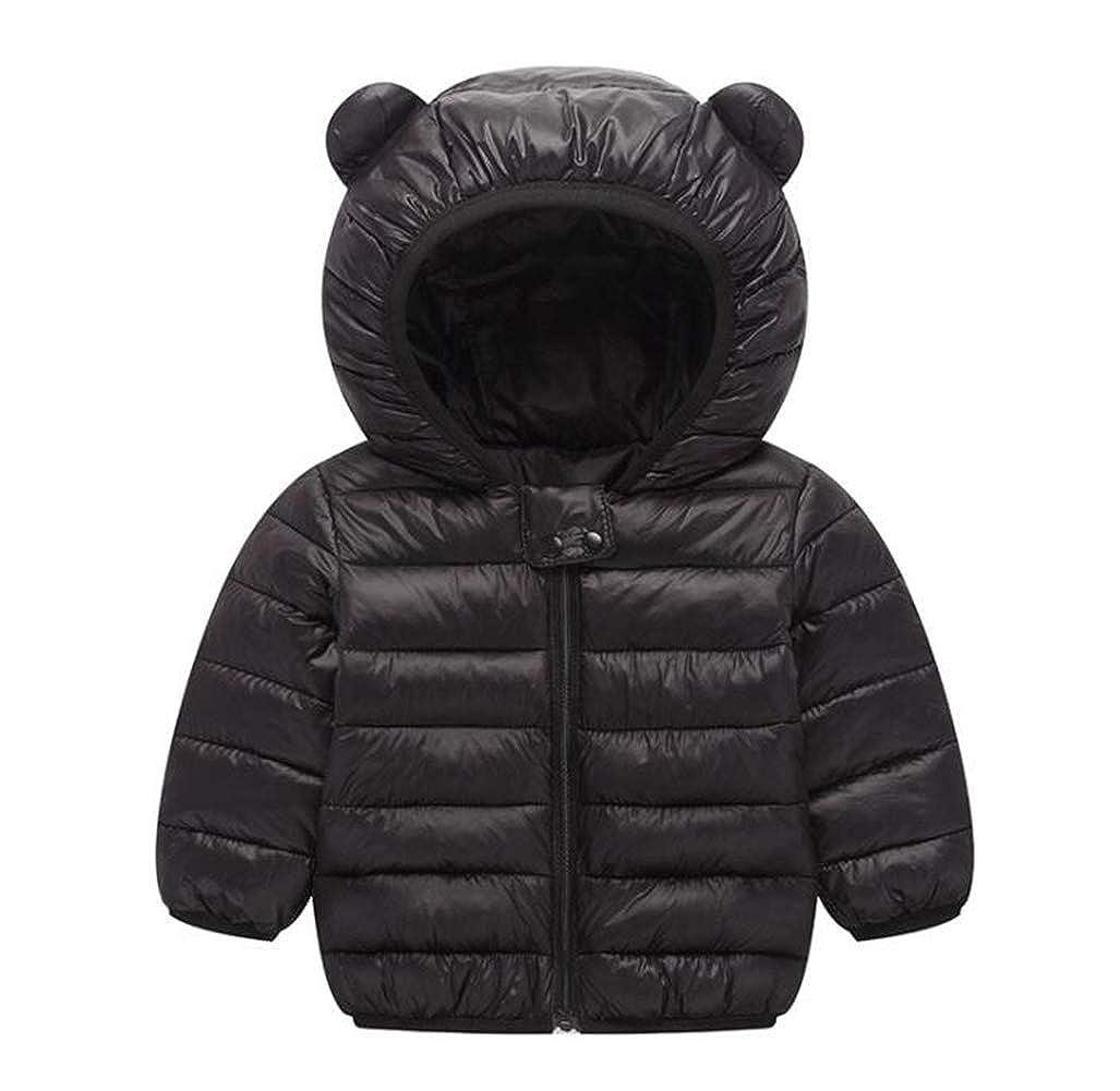 0ba8e3510 Amazon.com  TAIYCYXGAN Baby Girls Boys Winter Puffer Hooded Jacket ...