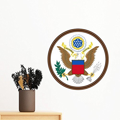 - United States National Emblem Removable Wall Sticker Art Decals Mural DIY Wallpaper for Room Decal