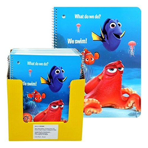 UPC 077764256042, Finding Dory 50 Sheet Single Subject Note Pad in PDQ