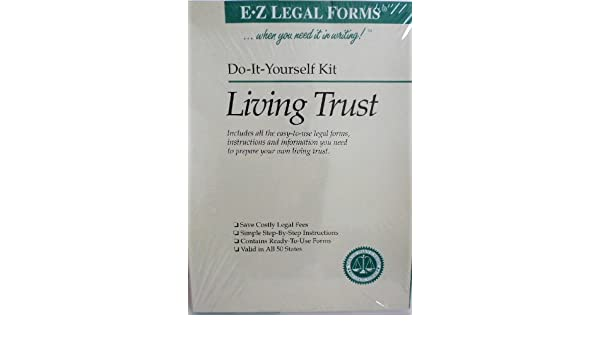 Amazon e z do it yourself living trust kit valid in all 50 amazon e z do it yourself living trust kit valid in all 50 states office products solutioingenieria Images