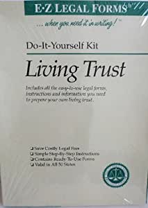 Amazon e z do it yourself living trust kit valid in all 50 e z do it yourself living trust kit valid in all 50 states solutioingenieria Gallery