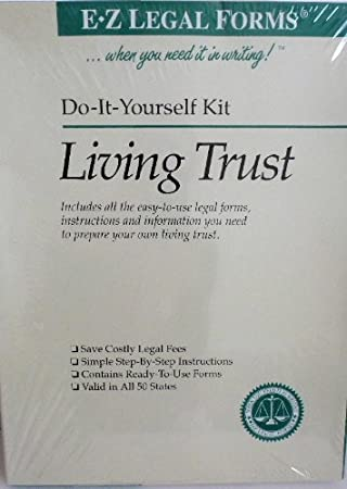 Amazon e z do it yourself living trust kit valid in all 50 e z do it yourself living trust kit valid in all 50 states solutioingenieria Images