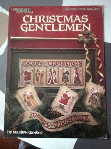 Christmas Gentlemen Stitching Craft Book
