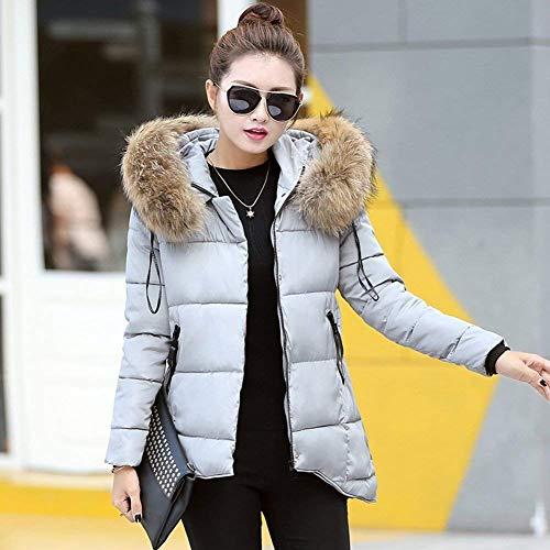 Anteriori Anteriori Anteriori Colore Grau Donna Donna Donna Donna Con Lunga Comodo Tasche Vintage Cappotto Moda Puro Coat Cappuccio Irregular Con Mantello Outwear Cerniera Invernali Manica xB1IIFqwPC