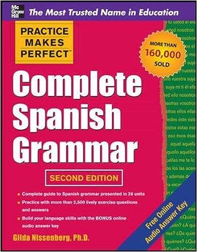 Amazon.com: Practice Makes Perfect Complete Spanish Grammar, 2nd ...