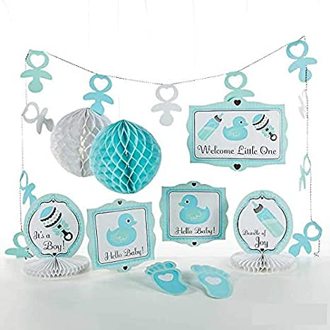 Amazon Baby Boy Shower Decorating Kit For Welcoming A New Baby