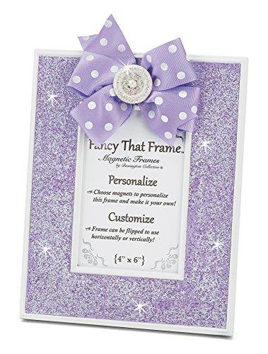 Bearington Fancy That Frame, Purple Glitter Magnetic Photo Frame 4