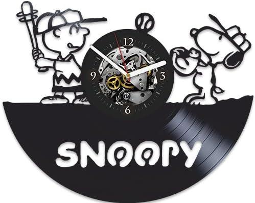 Snoopy Brand New Big FACE Official Peanuts Art Vinyl Wall Clock