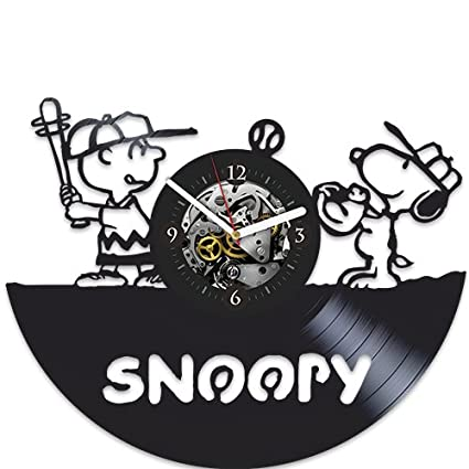 snoopy xmas gift original home decor wall clock large snoopy gift for kids