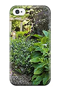 Fashion Protective Gardeners Paradise Washington Nature Flower Case Cover For Iphone 4/4s