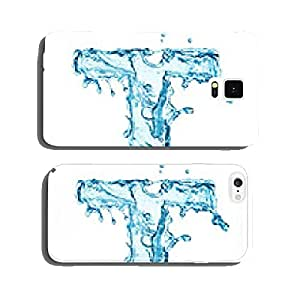 Water splashes letter cell phone cover case Samsung S5