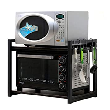 Estante de almacenamiento de impresión para cocina, doble estante ...