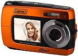 underwater camera coleman - Coleman Duo2 18.0 MP HD Underwater Digital & Video Camera (Waterproof to 10 ft.) with Dual LCD Screens, 2.7