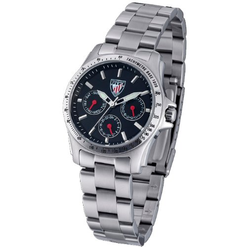 Reloj TIME FORCE Cadete Athletic Club Bilbao. Acero Sumergible TF-3177L01M: Amazon.es: Relojes