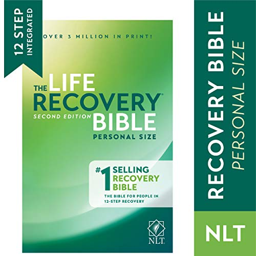 (Tyndale NLT Life Recovery Bible (Personal Size, Softcover) 2nd Edition - Addiction Bible Tied to 12 Steps of Recovery for Help with Drugs, Alcohol, Personal Struggles - With Meeting)