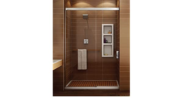 Maax 137361-900-084-001 Chrome Nuevo 6034 Alcove Shower Enclosure 60 ...