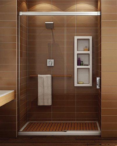 Maax 105589-000-001-101 White Professional Nuevo 4836 Alcove Shower ...