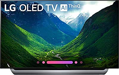 LG Series 8 OLED65C8AUA 65-Inch 4K Ultra HD Smart OLED TV (2018 Model)(Certified Refurbished)