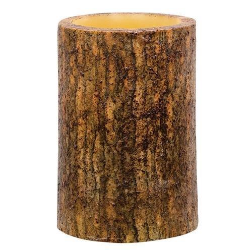 Heart of America Mustard Bark Timer Pillar