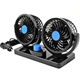 Best Car Fans - Taotuo 12V Electric Car Fan 360 Degree Rotatable Review