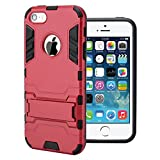 Iphone 6 Plus Case,iphone 6 Plus Case Armor Is Surface Arc Edge Iphone Iron Man Armor Seal Protection Shell (dark red)