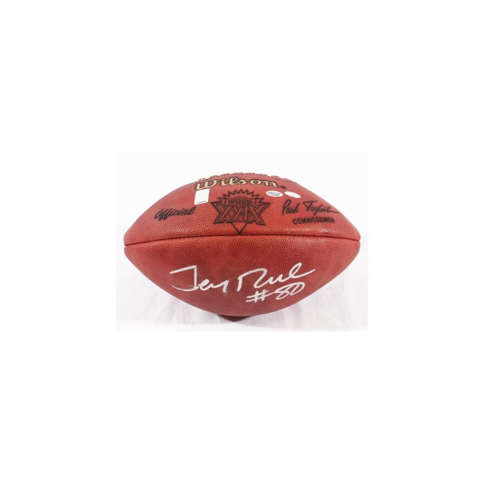 Jerry Rice Autographed SB XXIX Football   Rice Holo