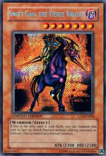 Yu-Gi-Oh Limited Edition Single Card - Swift Gaia the Fierce Knight - CT1-EN004