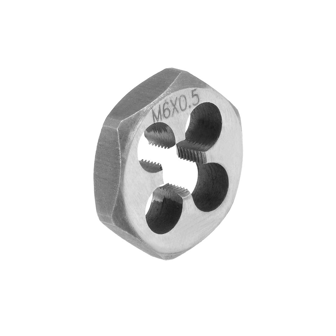 M6 X 0.75 CARBON STEEL HEXAGONAL RE-THREADING DIE