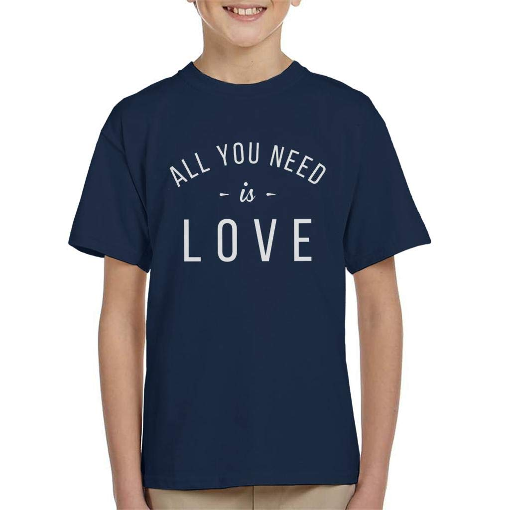 Coto7 The Beatles All You Need is Love Kid's T-Shirt